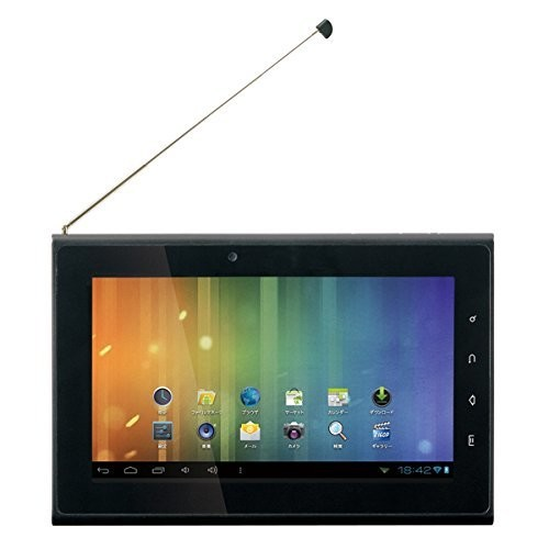 MouseComputer LuvPad AD707TV フルセグテレビ機能付き Androidタブレット
