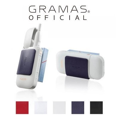 """GRAMAS COLORS """"CIG"""" Clip for IQOS(ホワイト)"""