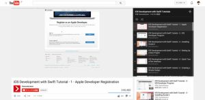 8.iOS Development with Swift Tutorial – 1 – Apple DeveloperRegistration