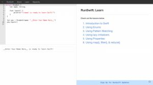 Swift:Learn Swift Online