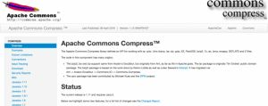 Javaライブラリ7:Commons Compress