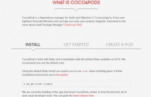 Objective-Cライブラリ1:CocoaPods