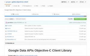 Objective-Cライブラリ4:Google Data APIs Objective-C ClientLibrary
