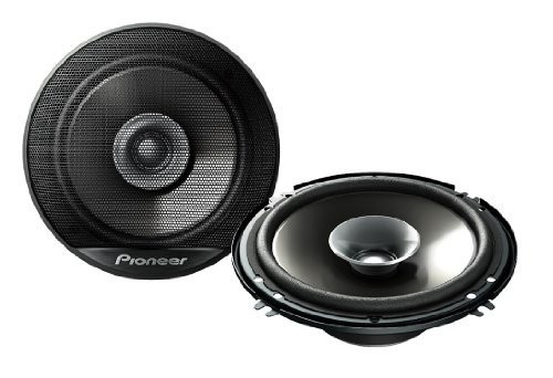 Pioneer TSG1614R 6.5-Inch 230W Car Audio Stereo Coaxial Speaker Front Rear - Set of 2 by Pioneer