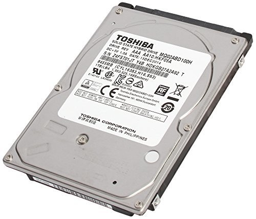 TOSHIBA MQ02ABD100H 2.5インチ 5400rpm 64MB 1TB SSHD 8GB