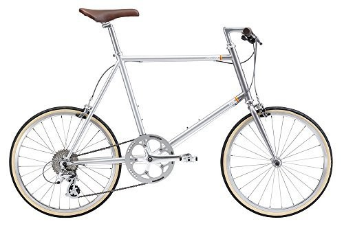 FUJI(フジ) HELION 44cm 8speed PILE SILVER ミニベロ 2018年モデル 18HELNSV PILE SILVER 44cm