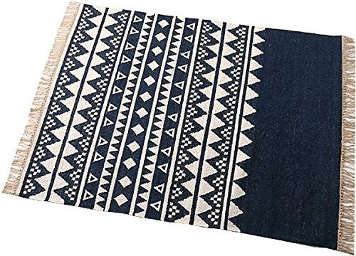 journal standard Furniture FANORE RUG 1400*2000 NAVY