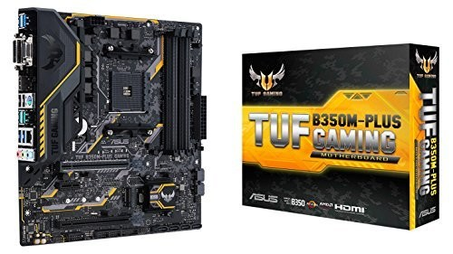 ASUS AMD B350搭載 マザーボード AMD AM4ソケット対応 TUF B350M-PLUS GAMING 【micro-ATX】