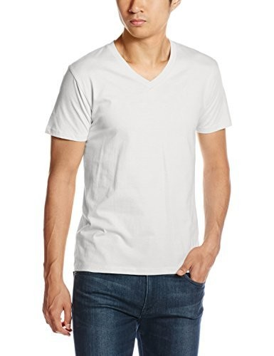 (ダルク)DALUC 4.6oz Fine Fit V-Neck Tシャツ DM502 [メンズ]