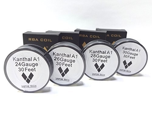 Kanthal A1 Wire カンタルワイヤー 30feet RBAコイル用 (28AWG:0.32mm)