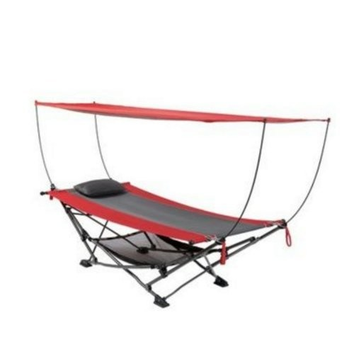 TOFASCO 折りたたみハンモック HAMMOCK FOLDABLE WITH REMOVABLE CANOPY