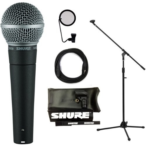 SHURE マイクケーブル付9点セット