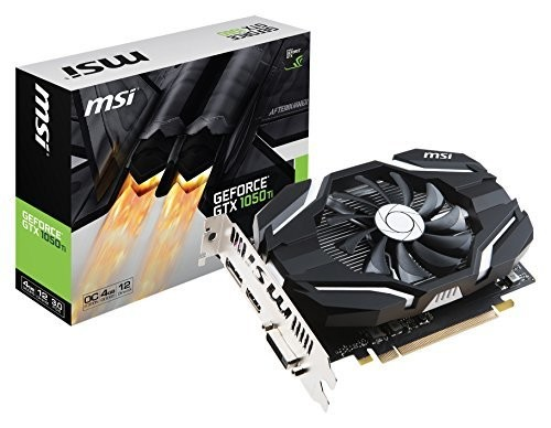 MSI GeForce GTX 1050 Ti 4G OCV1/SP